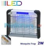 Ηλεκτρικό Εντομοκτόνο LED 20m2 - Εντομοπαγίδα Νέας Γενιάς με Μηδενική κατανάλωση 2 Watt 7016