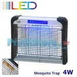 Ηλεκτρικό Εντομοκτόνο LED 35m2 - Εντομοπαγίδα Νέας Γενιάς με Μηδενική κατανάλωση 4 Watt 7017.