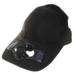 Ηλιακό Καπέλο Τύπου Jockey με Ανεμιστηράκι