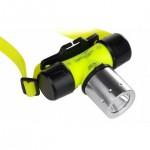 Αδιάβροχος Υποβρύχιος Φακός Κεφαλής - 800 Lumens Καταδυτικός CREE LED T6
