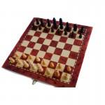 Μινι Τάβλι - Σκάκι Ξύλινο Ταξιδιού & Καφενείου 29x29cm - Standard