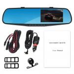 Καθρέπτης Αυτοκινήτου Full HD DVR Κάμερα Καταγραφικό με Οθόνη 3'' & Κάμερα Οπισθοπορείας