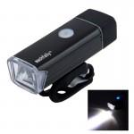 Επαναφορτιζόμενος USB LED Φακός Ποδηλάτου με Χειρολαβή- 180 Lumens-MC-QD001-53356