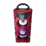 Φορητό Ηχοσύστημα Bluetooth USB/TF/AUX/FM Multimedia Player & Έξοδο Jack 6,3mm Mic