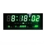 Ψηφιακό Ρολόι - Πινακίδα με Έντονα LED 2 Χρωμάτων με Θερμόμετρο & Ημερολόγιο