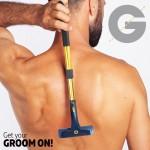 Πολυ-λειτουργική Ξυριστική Μηχανή Πλάτης & Σώματος - Groomarang Back-in-it Back Shaver