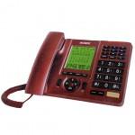 Επιτραπέζιο Τηλέφωνο με Μεγάλα Πλήκτρα για Ηλικιωμένους με Οθόνη LCD
