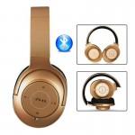 Σπαστά Ασύρματα Ακουστικά Bluetooth 4.2 EDR με Ραδιόφωνο