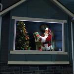 Ολογραφικό Σύστημα Προβολής για τα Χριστούγεννα