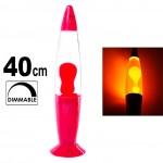 Πολύχρωμο Φωτιστικό Λάβας - Rainbow Motion Groovy Lava Lamp 40cm