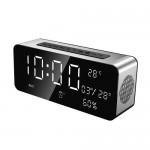 Επιτραπέζιο Ρολόι Multimedia Ηχείο Bluetooth με Ξυπνητήρι, USB/SD Player FM Radio Sardine®