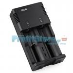 Φορτιστής Μπαταριών Li-Ion 26650/18650, 220V και USB - H&D Dual Smart Charger