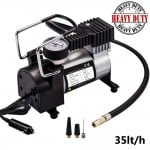 Ηλεκτρική Τρόμπα Αέρος Αυτοκινήτου Υψηλής Απόδοσης & Ισχύος 12V 150PSI 35lt/h Heavy Duty