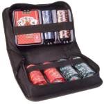 Πολυτελές Βαλιτσάκι Πόκερ με 150 Laser Μάρκες Casino 11,5g & Τράπουλα Deluxe