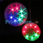 Μεγάλες Πολύχρωμες Διακοσμητικές Χριστουγεννιάτικες Μπάλες LED