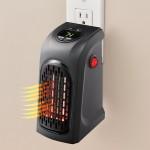 Μίνι Σόμπα Πρίζας - Αερόθερμο 300Watt Handy Heater με Θερμοστάτη και Χρονοδιακόπτη