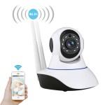 Ασύρματη IP WiFi/Ethernet Κάμερα HD 720p Pan/Tilt με Αισθητήρα Κίνησης, Νυχτερινή Λήψη, Ειδοποίηση στο Κινητό, Μικρόφωνο, Ηχείο, 2 Κεραίες & Micro SD
