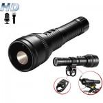 Επαναφορτιζόμενος Κατασκοπευτικός Φακός LED 200Lm με Ενσωματωμένη Κάμερα HD & Μικρόφωνο