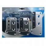 Αντιολισθητικά πεντάλ αυτοκινήτου Cubre - Design & Ασφάλεια - Σετ 3 τεμαχίων SC-036
