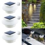 Ηλιακό Φωτιστικό Led EasyMax με Αισθητήρα Φωτός - Σετ 3 Τεμάχια