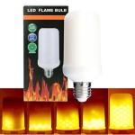Διακοσμητική Λάμπα με Εφέ Φλόγας - LED Flame Bulb 9W E27