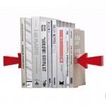 Διακοσμητικός Βιβλιοστάτης σε Σχήμα Βελάκια - 2 Magnetic Arrow Bookends