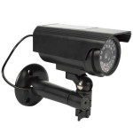 Ομοίωμα Κάμερας Security για Εξωτερικό Χώρο, με IR LED και Ηλιακό Πάνελ