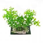 Ρεαλιστικό Διακοσμητικό Πλαστικό Φυτό 15cm για Ενυδρεία - Aquarium Plant