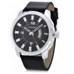Ανδρικό Ρολόι Curren 8245 - Casual Date Mens Quartz Analog Leather Strap Wrist Watch