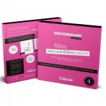 Σετ με Χάντρες Κεριού Αποτρίχωσης Μύτης για Γυναίκες - Groomarang Nose Hair Removal Wax