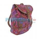 Γυναικεία Τσάντα - Σακίδιο Πλάτης Boho Style 30 x 30 εκ 7704 BROWN