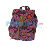 Γυναικεία Τσάντα - Σακίδιο Πλάτης Boho Style 24 x 30 εκ 7788 BLACK