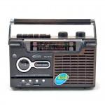 Φορητό Ραδιοκασετόφωνο - Μαγνητόφωνο Cassette USB/SD Mp3 Player, Ρεύματος - Μπαταρίας