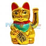 Διακοσμητική Τυχερή Χρυσή Γάτα Καλωσορίσματος - Feng Shui Welcome Cat 26cm