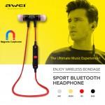 Ακουστικά Bluetooth - Τρεξίματος Άθλησης V4.0 AWEI Sport Headset Handsfree