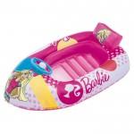 Παιδική Φουσκωτή Βάρκα 114x71cm με Σχέδιο Barbie