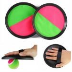 Νέον Βέλκρο Παιχνίδι με Μπαλάκι του Τέννις - Neon Velcro Scratch Ball