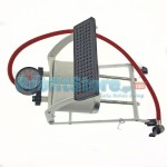 Ισχυρή Τρόμπα Αέρος Ποδιού με 2 Κυλίνδρους με Μανόμετρο 300 psi - 3 bar Liyset FY-39683