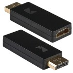 Αντάπτορας DisplayPort αρσ. σε HDMI θηλ. με επίχρυσες επαφές.
