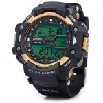 Ανδρικό Ψηφιακό Ρολόι Χειρός - Αδιάβροχο 3ΑΤΜ & Sport με Χρονόμετρο & Φωτισμό Black Light