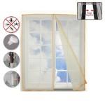 Έξυπνη Κουρτίνα Σίτα Υψηλής Ποιότητας για Παράθυρα 80cm x 140cm - Magic Window Mesh