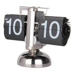 Ρετρό Ρολόι Flip Με Περιστρεφόμενα Φύλλα Bomba Alarm Clock