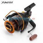 Μηχανισμός για Καλάμι Ψαρέματος με 13 Ρουλεμάν & Οδηγό Πετονιάς Yumoshi AX-7000