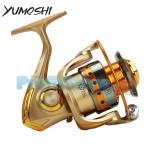 Μηχανισμός για Καλάμι Ψαρέματος με 12 Ρουλεμάν & Οδηγό Πετονιάς Yumoshi HF-7000