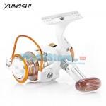 Μηχανισμός για Καλάμι Ψαρέματος με 13 Ρουλεμάν & Οδηγό Πετονιάς Yumoshi BX-8000