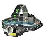 Επαναφορτιζόμενος Φακός Κεφαλής LED με 2xQ5 + 1xΤ6 LED + 1xCOB - X-BALOG BL-T47