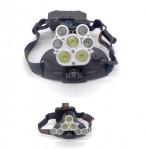 Επαναφορτιζόμενος Προβολέας Κεφαλής USB 7 LED