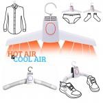 Φορητή Ηλεκτρική Κρεμάστρα Στεγνωτήρας Ταξιδιού για Όλα τα Ρούχα - Αερόθερμο για Πετσέτες, Παπούτσια, Εσώρουχα, Μπλούζες, Κάλτσες