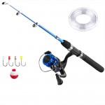 Σετ Ψαρέματος με Τηλεσκοπικό Καλάμι 2.1μ, Μηχανάκι, Πετονιά & Αγκίστρια- Fishing Set For Beginners