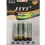 Επαναφορτιζόμενη μπαταρία ΑAΑ JIYI Νi-MH 1,2V - 2800mAh - 4 τεμάχια